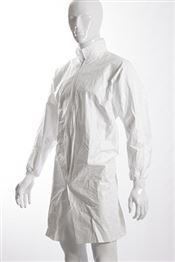 D-0003-L DOTCH® Tyvek® Coat with zipper, Tyvek®, 41g/m², white, L, 1 pc/bag, 25 bags/box