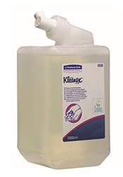 P-0003-1 KLEENEX® Frequent Use Hand Cleanser, with pump, liquid soap, clear, 19x9x9cm, 1l, 1l/cartridge, 6 cartridges/box